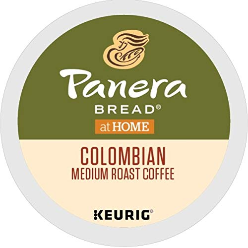 Panera Bread Colombian, Single-Serve Keurig K-Cup Pods, Medium Roast Coffee, 72 Count