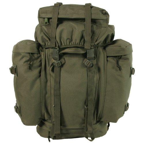 MFH - Mochila de senderismo (80 L, diseño militar), color verde