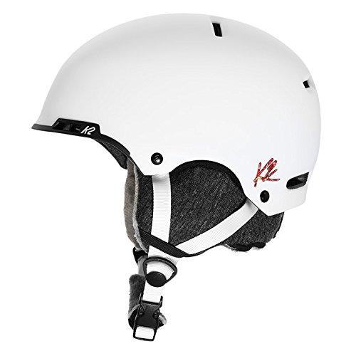 K2 Skis Damen Skihelm MERIDIAN white S 1054007.1.2.S Snowboard Snowboardhelm Kopfschutz Protektor