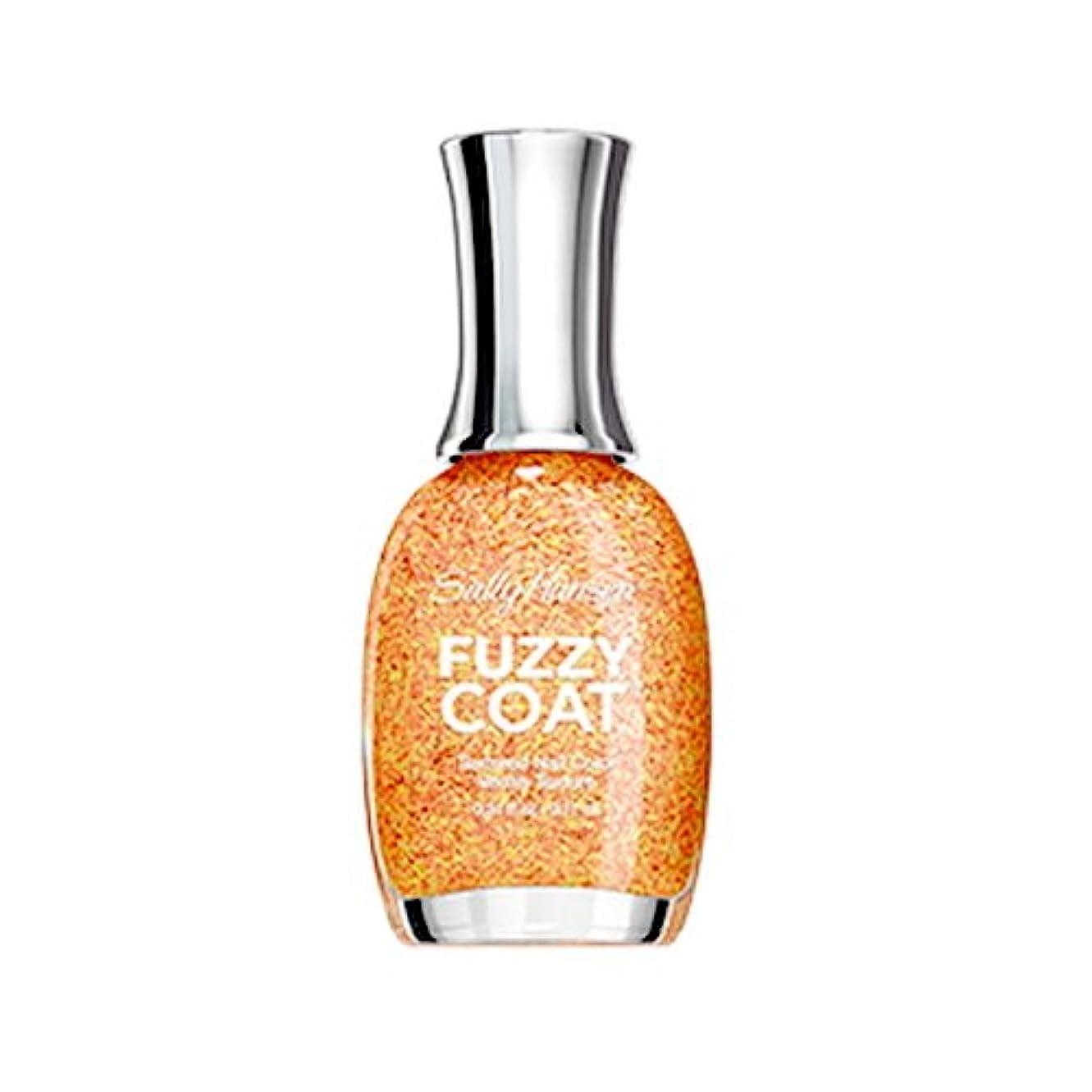妻債権者放送(6 Pack) SALLY HANSEN Fuzzy Coat Special Effect Textured Nail Color - Peach Fuzz (並行輸入品)