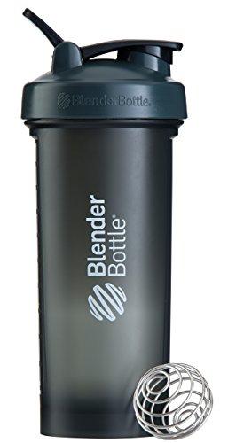 BlenderBottlePro45Extra Large Shaker Bottle, Grey/White, 45-Ounce