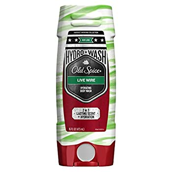 Old Spice Hardest Working Collection Hydro Body Wash Live Wire 16 Fluid Ounce