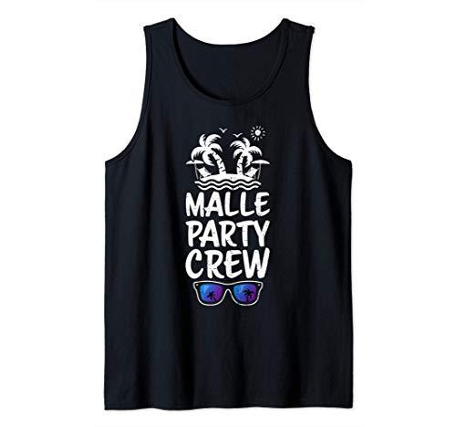 vacaciones partido: Malle Party Crew - Mallorca Camiseta sin Mangas