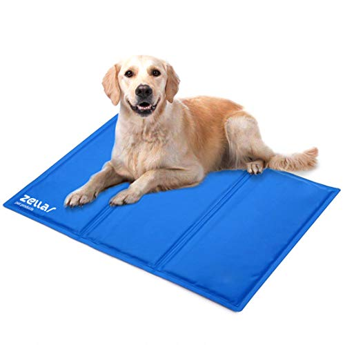 Zellar Pet Cooling Mat, Pet Dog Cat Cool Mat Self Cooling, Large, 50 x 90 cm
