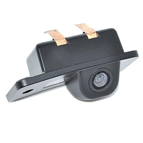 Cámara de visión trasera del vehículo del coche para Audi-A3 A4 A6 A8 Q5 Q7 A6L Cámara de marcha atrás de respaldo Impermeable de visión nocturna