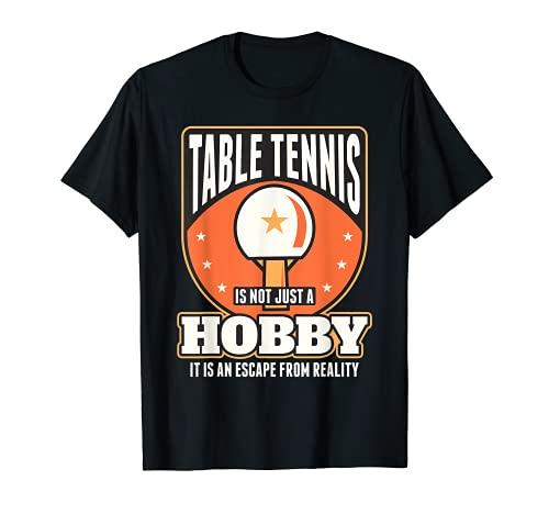Equipo de ping pong de tenis de mesa para jugadores de tenis de mesa Camiseta