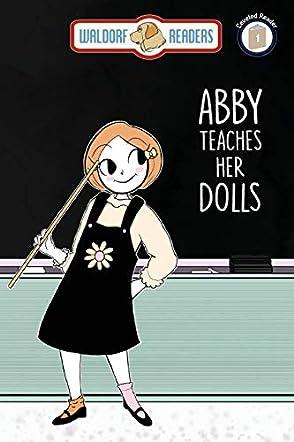 Abby Teaches Her Dolls