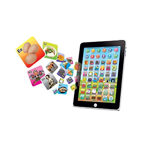 DAGONGJI My First Tablet Computer Toy, Kids Learning Machine Childrens Laptop Touch Type Learning Computer Educational Toy Game Early Educational Development Toy