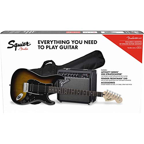 Fender Affinity Series™ Strat HSS Pack - Brown Sunburst