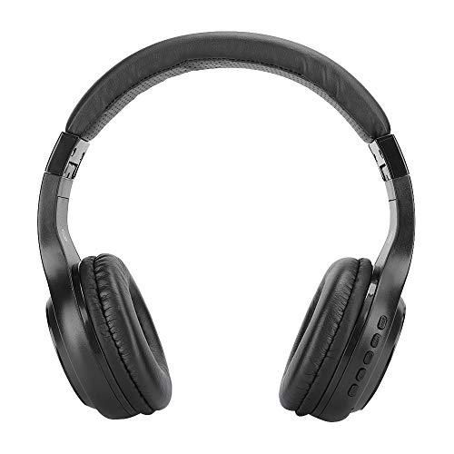 Socobeta Auriculares Bluetooth sobre la Oreja Auriculares inalámbricos para Correr Auriculares estéreo de Alta fidelidad Plegables para teléfonos móviles, TV y PC