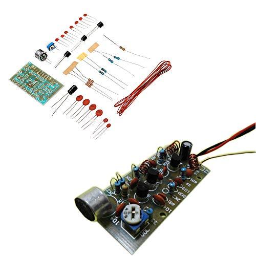 U – 3-delige set voor knutselen, 3 buizen, draadloze microfoon, microfoonmodule, elektronische productie.