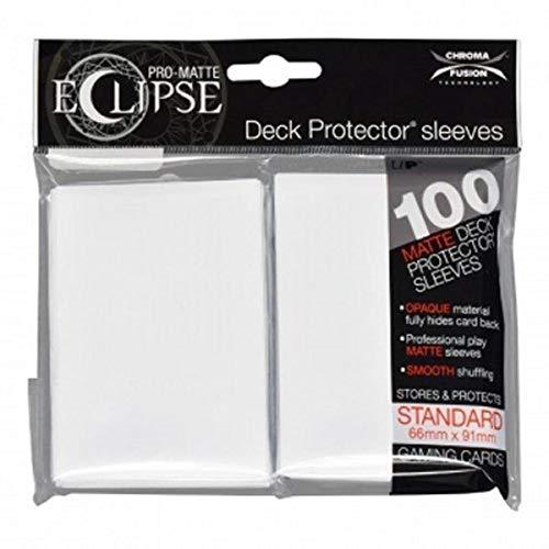 Ultra Pro-UPR85600 Pro-Matte Eclipse Artic White (100), Color Blanco (E-85600)