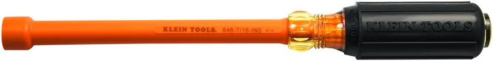 Klein Tools Rare 646-7 16-INS Insulated Driver 7 16-Inch Regular discount 6-Inch Nut