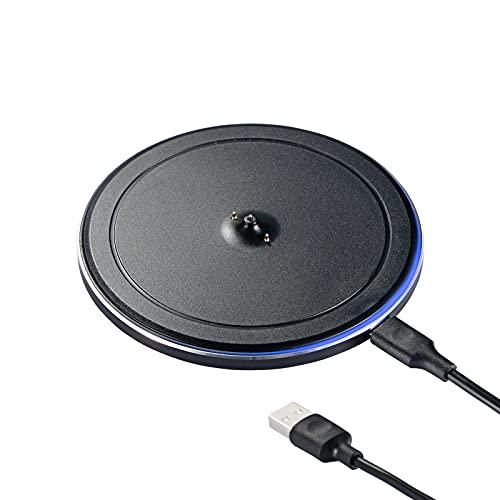 Base de Carga Power Up, Compatible con Ultimate Ears UE Boom 3 / Megaboom 3 / Blast / Megablast, Almohadilla de Carga de Altavoz portátil Bluetooth, Cable Tipo C Incluido (Negro)