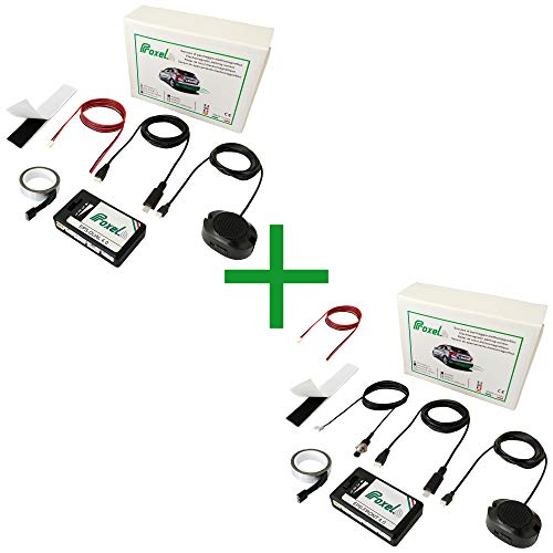 Sensores De Aparcamiento Electromagnéticos Invisibles Delantero y Trasero Sin de Taladrar, Invisible, Kit Universal, Proxel Original, Versión 2020