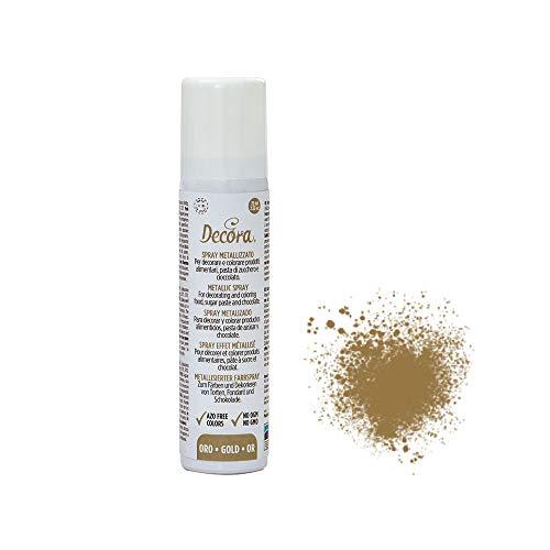 Decora 9600602 Decora Spray Metallizzato Oro 75 Ml