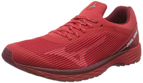 Mizuno Duel Sonic, Zapatillas de Running Hombre, Rojo (High Risk Red/Biking Red 56), 45 EU