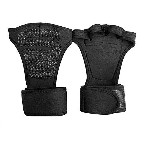 MYHH 1 Paar Fitnesstraining Handschuhe Sport Armband, Größe: L (schwarz).
