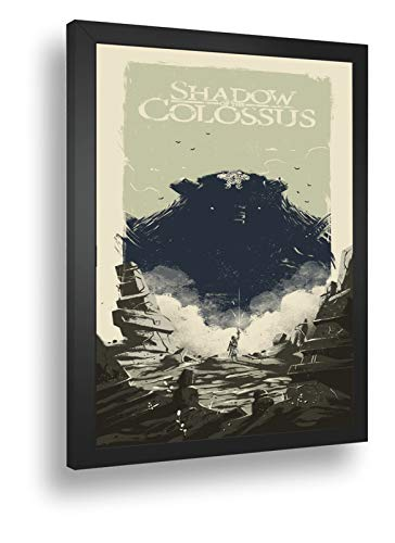 Quadro Decorativo Poste Shadow Of The Colossus Classico