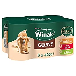 Winalot Hearty Casseroles Selection – 4x6x400g (24 Cans)