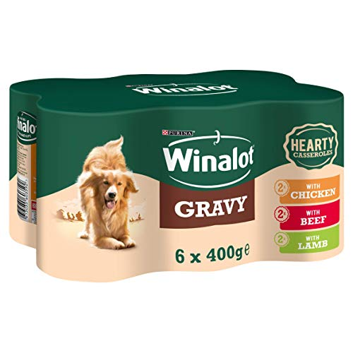 Winalot Hearty Casseroles Selection - 4x6x400g (24 Cans)