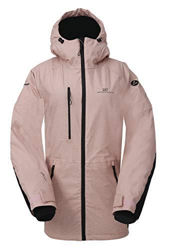 2117 Of Sweden Lanna Insulated Snowboard Jacket Womens Sz XXL Dusty Rose