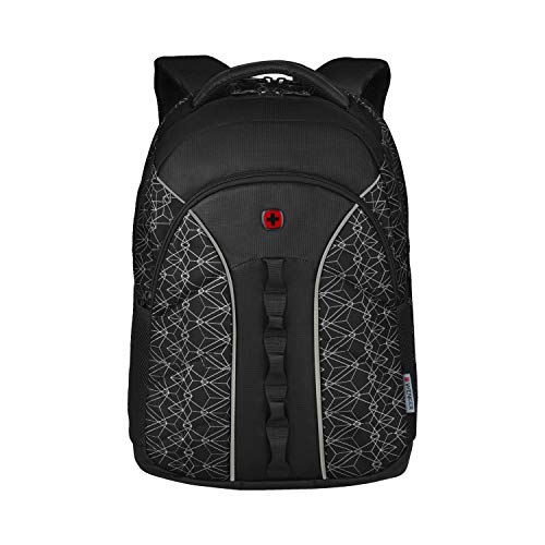 WENGER BTS 2020, Sun, 16 Inch Laptop Backpack, Black Geo Print (R) 610213, Black