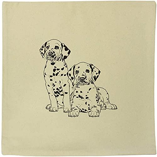 Azeeda 40cm x 40cm 'Dalmations' Canvas Cushion Cover (CV00020726)