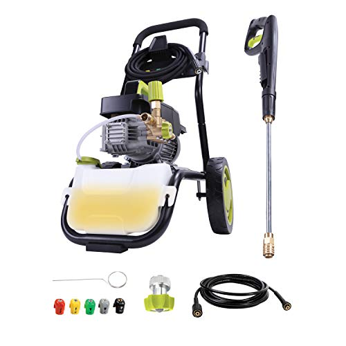 Sun Joe SPX9008-PRO 2.41 Hp 1800 Max Psi 1.6 Gpm Commercial Pressure Washer with Roll Cage