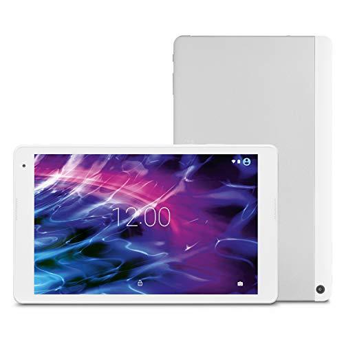 MEDION P10400 25,7 cm (10,1 Zoll) Full HD Tablet (Intel Atom x5-Z835, 2GB RAM, 32GB Speicher, Gorilla Glass, WLAN, Bluetooth, GPS, 5MP Kamera, Android 6.0 Marshmallow) weiß