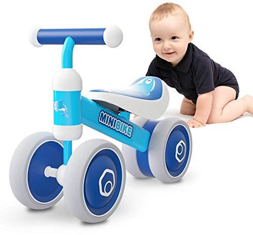 XIAPIA Bicicleta sin Pedales para Niños, Bicicleta Bebe 1 Año Bicicleta Equilibrio 1 Año Bicicleta Infantil sin Pedales de Forma Animal Lindo de Regalo Favorito del Niño (Rosa)