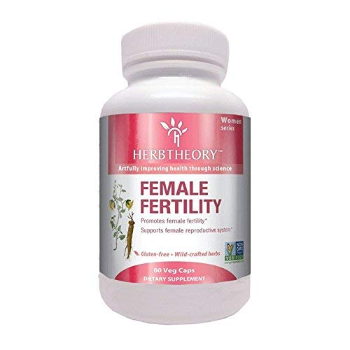 Herbtheory Female Fertility Supplement for Women (950mg, 60 Capsules) HERBTHEORY
