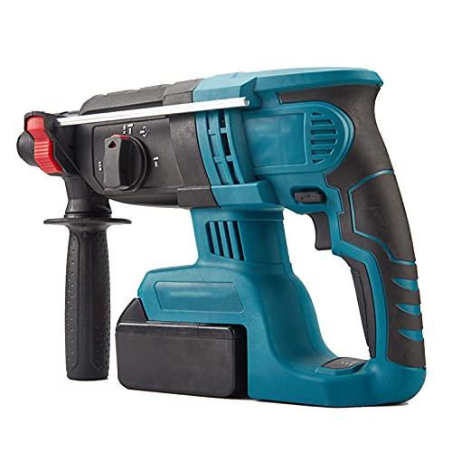 WEIHE Bohrhammer Bohrhammer Mit Variabler Geschwindigkeit, Akku-Bohrhammer Messbarer Hammer Ideal Für Beton, Stahl.