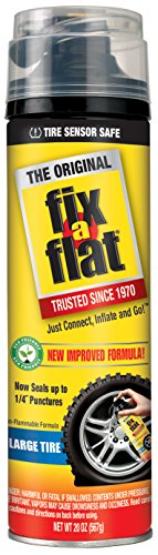 Fix-A-Flat S60430 Tire Inflator with Eco-Friendly Formula, (20 oz), 1.63 centiliters