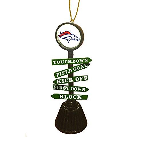 Team Sports America 3OT3809FC Denver Broncos Fan Crossing Ornament