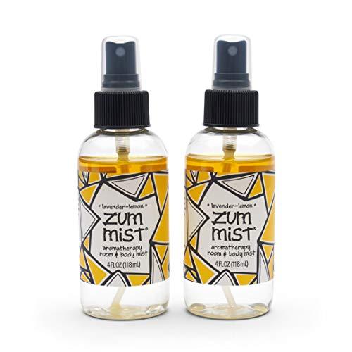 Indigo Wild Zum Mist Room and Body Spray - Lavender-Lemon - 4 fl oz (2 Pack)