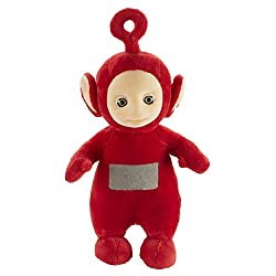 Teletubbies Plush is for ages 18+ months Made from super soft plush makes it perfect for cuddling and playtime! Simply press Po's tummy and hear it talk and play sound effects! Your little one will love the super soft Teletubbies Talking Po with spee...