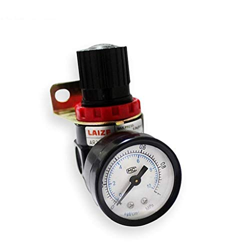 NaiCasy AFR2000 Oil and Water Separator air Pressure Regulator Filter Pressure reducing Valve for Gas Source Processor