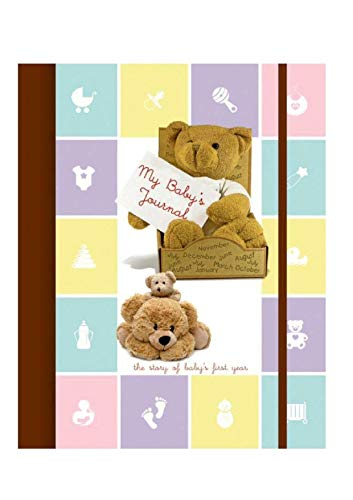 TIARA Diaries The Baby Record Book and First Year Memories Planner (Multicolour)