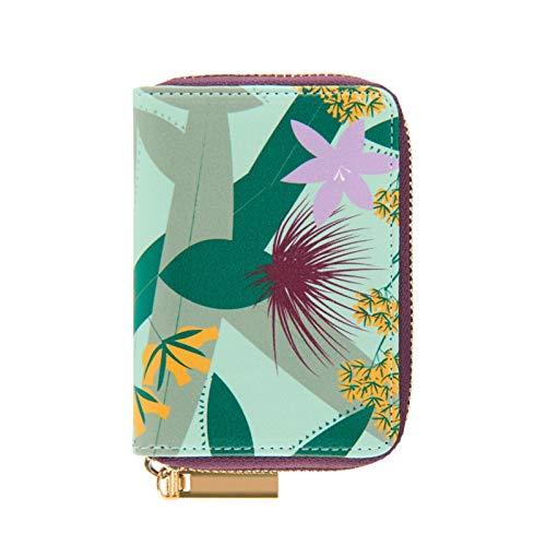 Derrière la Porte - Portatarjetas para tarjetas de orner toogether (diseño de flores exóticas)