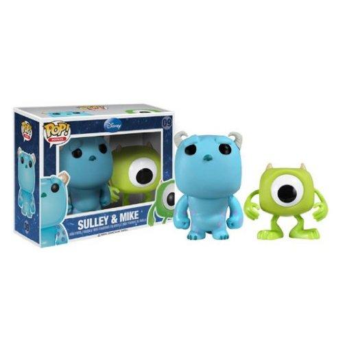 Pop! Minis Disney Monsters, Inc. Mike & Sulley Vinyl Figure by FunKo