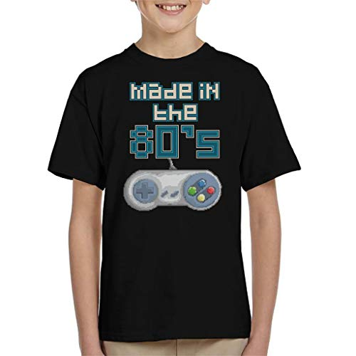 Made in the 80s Retro Gaming Console SNES Controller Pixel Art Kid's T-shirt