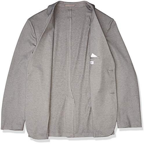 Amazon Essentials Men's Knit Sport Coat, Light Gray Heather, Medium