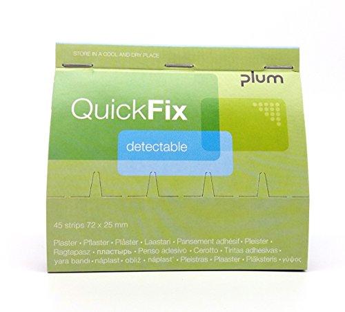 QuickFix Pflaster detektabel Nachfüllpack (45 Pflasterstreifen 72 x 25 mm)