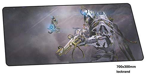 Warframe Gamer 700X300X2Mm Alfombrilla De Ratón para Portátil Gaming Grande Indie Pop Pad Mouse Pc Escritorio G