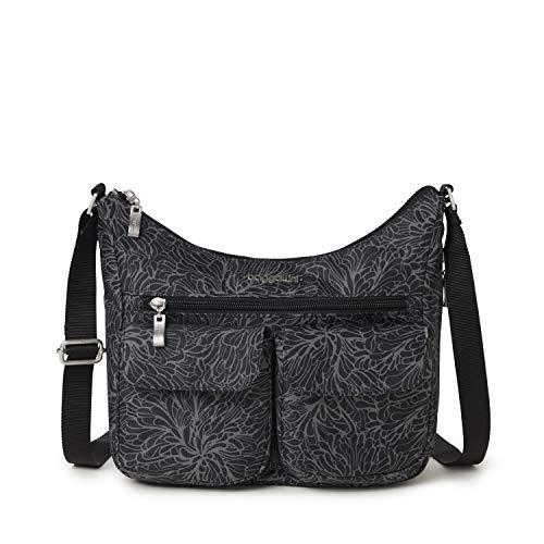 baggallini Small Everywhere Bag, Midnight Blossom