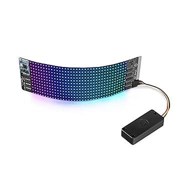 SainSmart LEDuino 12x36 Bluetooth Control LED Matrix Flexible Addressable RGB Panel Pixel Art Display