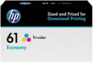 HP 61 | Ink Cartridge | Tri-color | Economy Size | B3B08AN