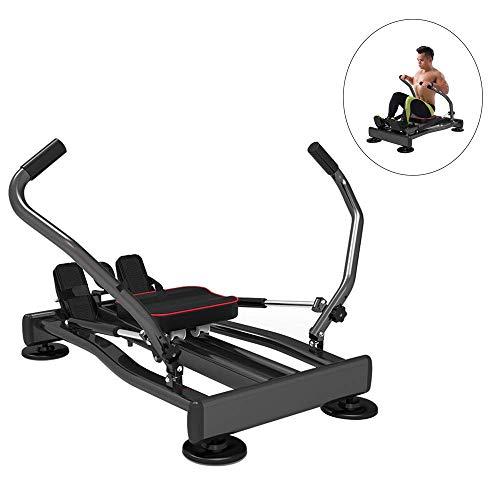HEWEI Rudergeräte Multifunktions-Fitnessgeräte zum Abnehmen mit vollem Sport Einstellbarer Widerstand Hydraulisches Cardio-Workout Kompaktes Faltrudergerät