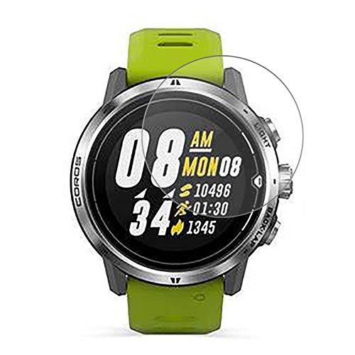 Vaxson 3 Unidades Protector de Pantalla de Cristal Templado, compatible con Coros Apex Pro Smart Watch, 9H Película Protectora Film Guard Nueva Versión